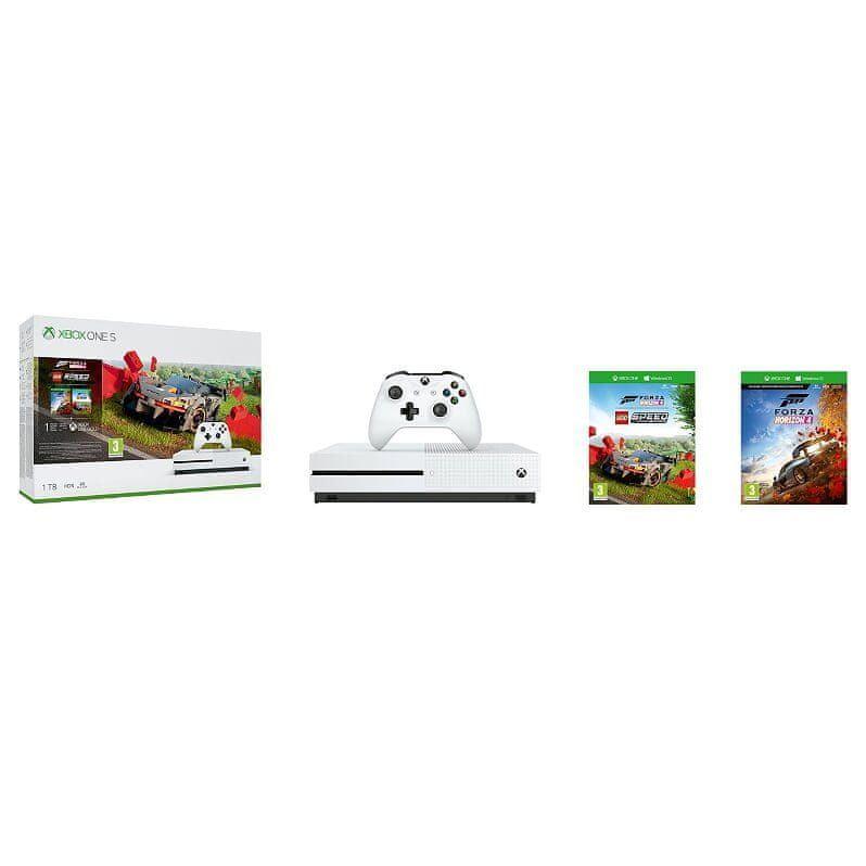 Microsoft Xbox One S 1TB + Forza Horizon 4 + LEGO Speed Champions DLC - rozbaleno