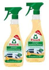 Frosch EKO 2x500ml čistilo za sijoče površine