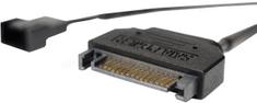 Noctua NA-SAC5 kábel, SATA na 4-pin