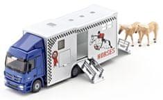 SIKU Super - Transporter na prepravu koní, 1:50
