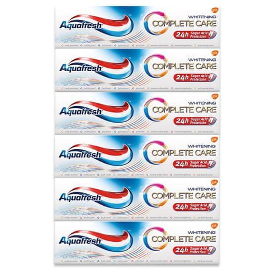 Aquafresh pasta do zębów Complete Care Whitening ZP 75 ml - 6 pack