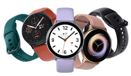 Samsung Galaxy Watch Active 2 Steel 40 BT pametna ura, srebrna