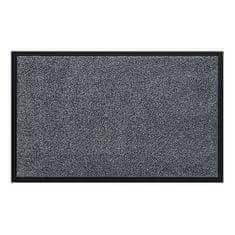 FLOMA Šedá vnitřní vstupní čistící pratelná rohož Watergate - 40 x 60 cm