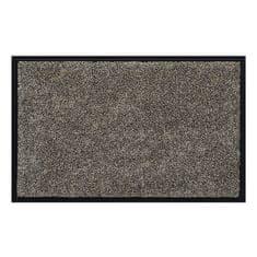FLOMA Hnědá vnitřní vstupní čistící pratelná rohož Watergate - 40 x 60 cm