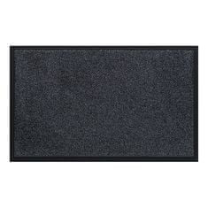FLOMA Antracitová vnitřní vstupní čistící pratelná rohož Watergate - 40 x 60 cm
