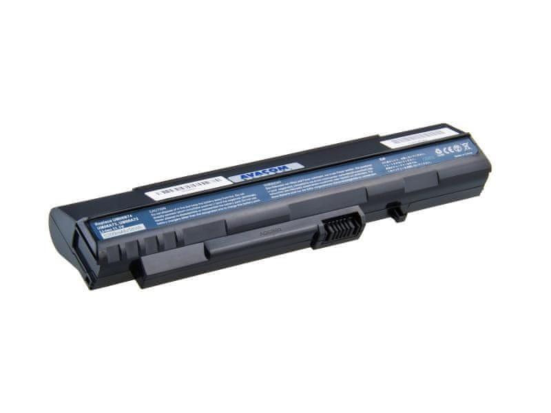 Avacom Acer Aspire One A110/A150, D150/250, P531 series Li-Ion 11,1V 5200mAh/58Wh black