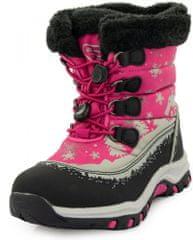 ALPINE PRO Śniegowce dziewczęce Etelo KBTP215450 24 różowe