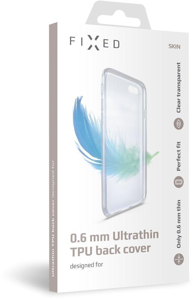 FIXED Ultratenké TPU gelové pouzdro Skin pro Xiaomi Mi 9T/ Mi 9T Pro, 0,6 mm, čiré, FIXTCS-432