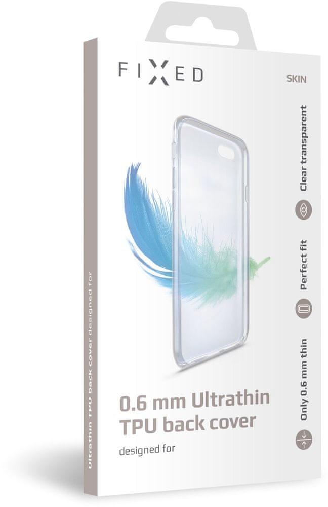 FIXED Ultratenké TPU gelové pouzdro Skin pro Honor 20, 0,6 mm, čiré, FIXTCS-406