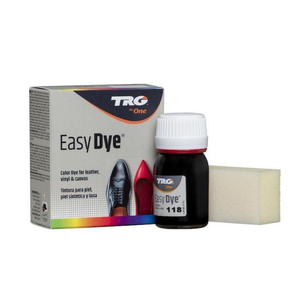 TRG One Barva na kůži, koženku a obuvnické plátno EasyDye - Černá 118 Black