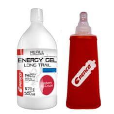 Penco Energetický gel LONG TRAIL REFILL Malina + PENCO SOFT FLASK 150ml
