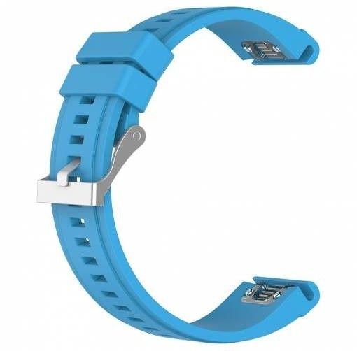 eses Silikonový řemínek modrý pro Garmin Fenix 3/5X/5X Plus/5X Sapphire/3HR (1530000438) - rozbaleno