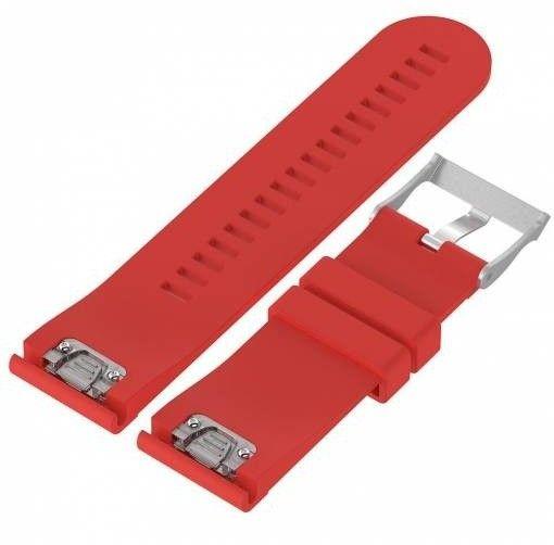 eses Silikónový remienok červený pre Garmin Fenix 3/5X/5X Plus/5X Sapphire/3HR (1530000435)