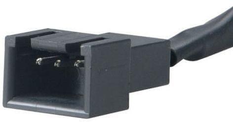 Akasa AK-CBFA05-05, redukce ventilátoru, 80mm