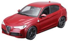 BBurago Alfa Romeo Stelvio 1:24 czerwony