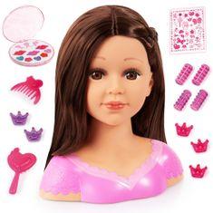 Bayer Design Česací hlava Charlene bruneta