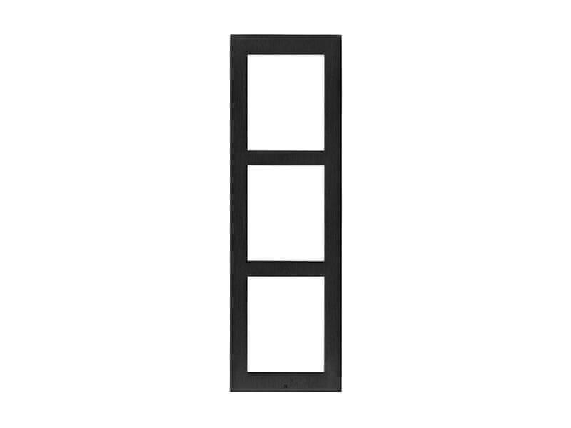2N 9155023B, IP Verso - Rám pro instalaci na povrch, 3 moduly - černý