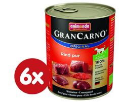 Animonda GranCarno hovězí maso 6 x 400g