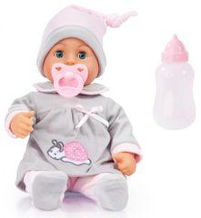 Bayer Design First Words Baby 38 cm szürke
