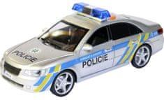 MaDe Policejní auto s českým hlasem na setrvačník 24 cm