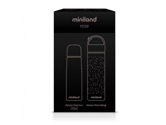 Miniland Baby Sada termosky a termoobalu DeLuxe