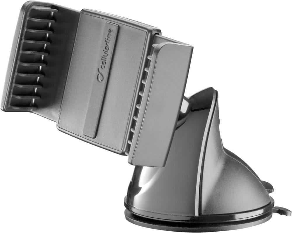 CellularLine Univerzální držák s přísavkou Pilot Embrace pro mobilní telefony, černá, PILOTFITK