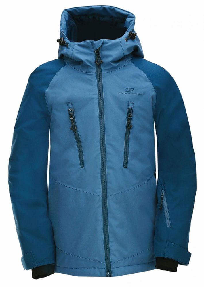 2117 dětská lyžařská bunda Lammhult JR navy 164