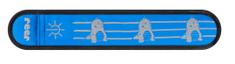 Reer Reflektivna vrpca s LED svjetiljkom, plava