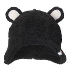 Lodger čepice Hatter Teddy 0 - 3 m černá