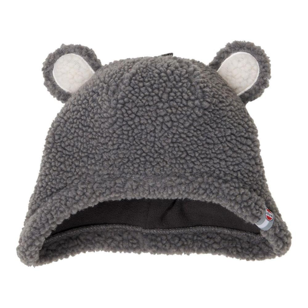 Lodger čepice Hatter Teddy 0 - 3 m šedá