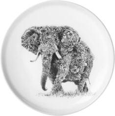 Maxwell & Williams Marini Ferlazzo talíř africký slon, 20 cm