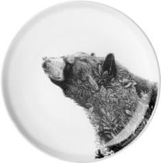 Maxwell & Williams Marini Ferlazzo talíř asijský černý medvěd, 20 cm
