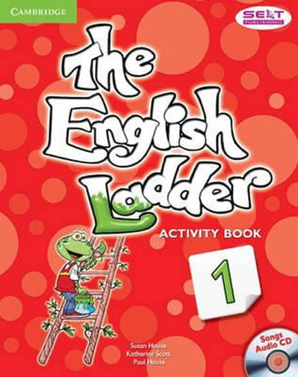 House Susan: English Ladder Level 1 Activity Book with Songs Audio CD