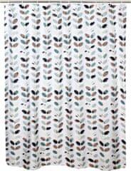 TORO Sprchový záves, 180x180 cm, Fliačky