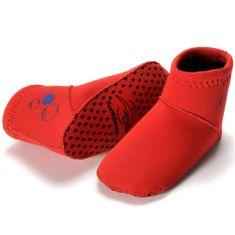 KONFIDENCE Škornji iz neoprena 12-24 mesecev, Rdeča