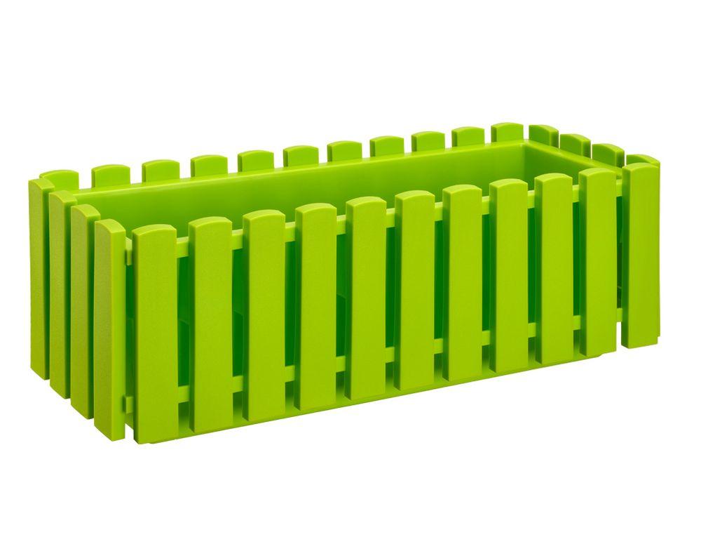 Plastkon Truhlík FENCY plastový zelený 50 cm