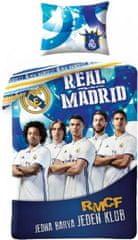 Halantex Povlečení FC Real Madrid - Jedna barva jeden klub bavlna 140x200 70x90