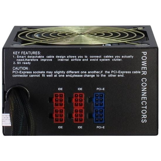 Inter-tech Energon EPS-750W CM napajanje, modularno, ATX, 750 W