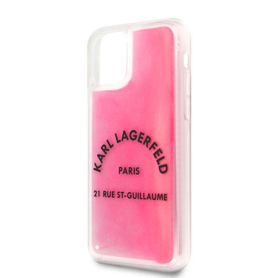 Karl Lagerfeld Glow in The Dark Kryt pro iPhone 11 (EU Blister) (KLHCN61GLTRSL)
