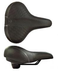 DDK sedlo D2510 Comfort Artwork černé s elastomery