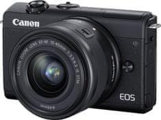 Canon EOS M200 + 15-45 EF-M IS STM Black (3699C010)