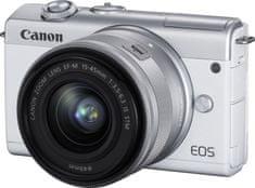Canon EOS M200 + 15-45 EF-M IS STM White (3700C010)