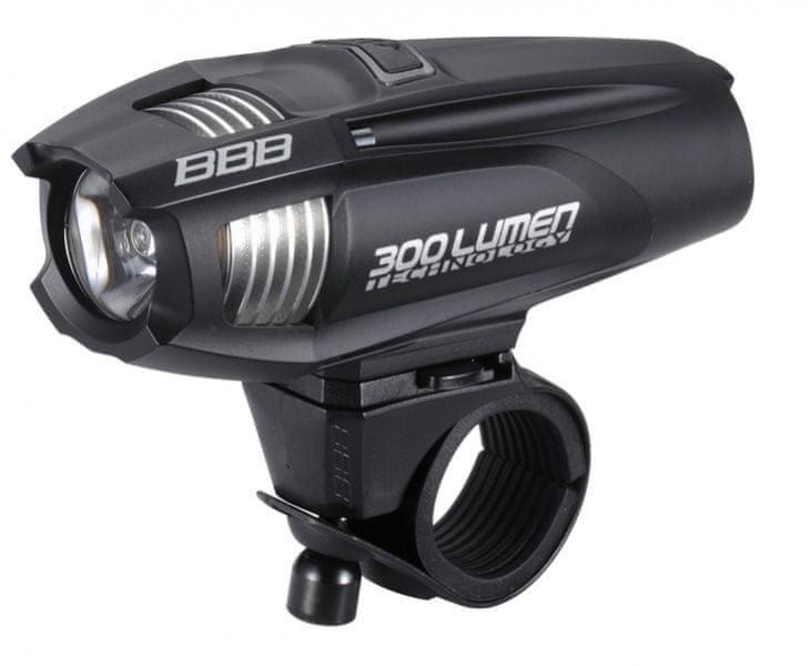 BBB osvětlení přední Strike 300 černé