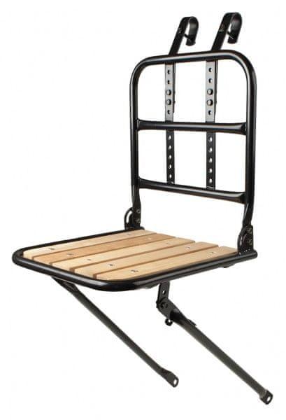 TWN nosič RETRO Fe s dřevěnou plochou