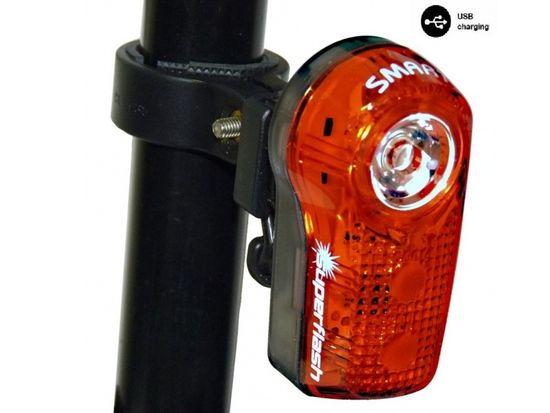 Smart blikačka zadní 317 0.5W RED LED USB