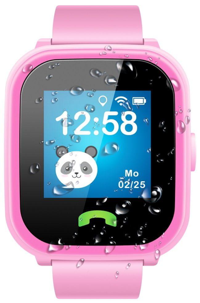 Sponge See 2, dětské hodinky s GPS, růžové