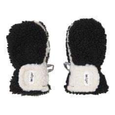 Lodger rukavice Mittens Teddy 6 - 12 m černá