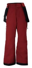 2117 Lammhult Jr otroške smučarske hlače, vinsko rdeče, 152
