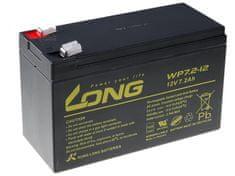 Long Long 12V 7,2Ah olověný akumulátor F2 (WP7.2-12 F2)