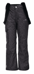 2117 Tällberg Jr otroške smučarske hlače, leopardji vzorec, 164